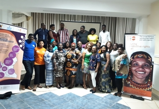 Participants resolved to continue working in order to comply with the new initiatives Photograph: UNFPA, August 2019