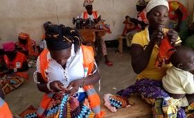 Apprentissage des métiers de couture