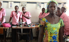 Sylvie Tokofi's village was attacked by Boko Haram